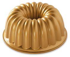 NordicWare Forma na bábovku, Elegant, zlatá