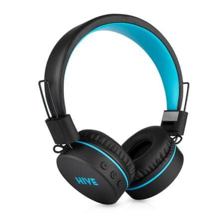 Niceboy brezžične slušalke Hive, črno-modre