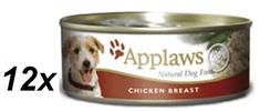 Applaws Kutya konzerv, csirkemell, 16 x 156 g