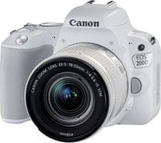 Canon aparat EOS 200D + 18-55 IS STM