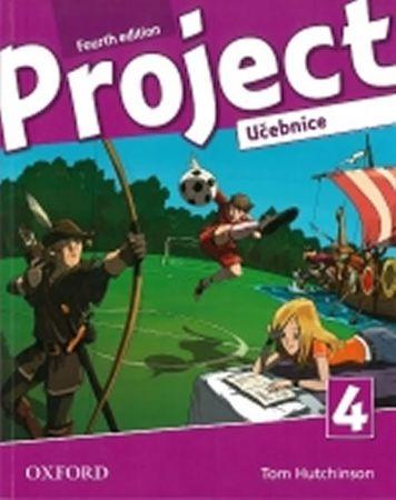 Hutchinson, T.; Hardy-Gould, J.; Trnová,: Project Fourth Edition 4 Učebnice