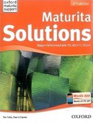 Falla Tim, Davies Paul A.: Maturita Solutions Upper Intermediate Student´s Book 2nd (CZEch Edition)
