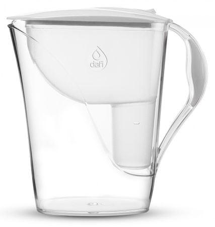 DAFI Luna classic vízszűrő kancsó 3,3 l, fehér