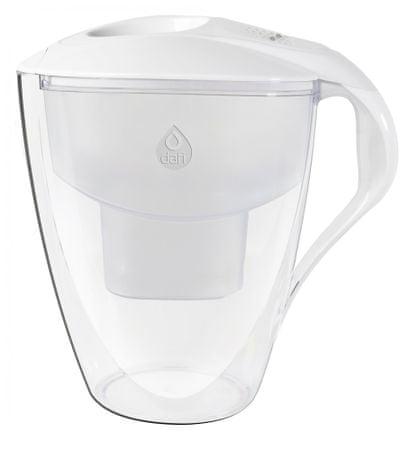 DAFI Omega unimax vízszűrő kancsó 4 l, fehér