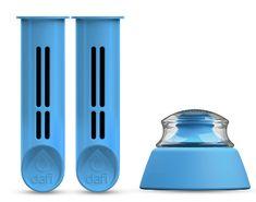 DAFI filtr zapasowy 2 szt + wieczko do butelki filtrującej