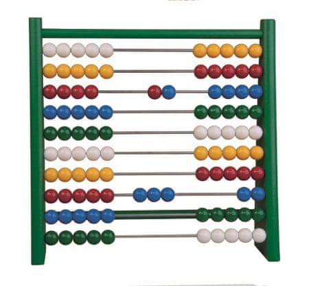 DETOA Počítadlo 100 kuliček - zelené