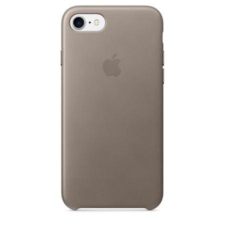 Apple kožna maska iPhone 7, smeđe-siva