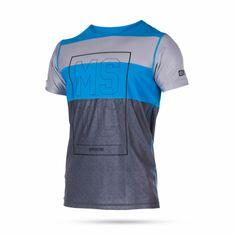 Mystic kopalna majica Quickdry Drip SS-400, modra
