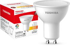 TOSHIBA PAR16 4,5W 345lm 3000K 80Ra ND 120D GU10