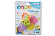 Unikatoy ropotulja Baby sadje, blister 24974