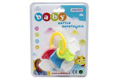 Unikatoy ropotulja Baby ključi, blister 24975