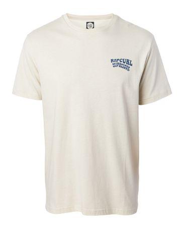 Rip Curl pánske tričko Sun Drenched S smotanová