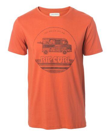 Rip Curl muška majica Van Surf M narančasta