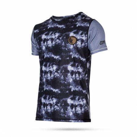 Mystic kopalna majica Quickdry Cable Rat SS-900 Black, sivo-črna, S