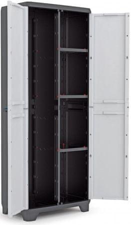 Kis Linear Utility Műanyag szekrény