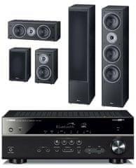 Yamaha HTR-4071 + Magnat Supreme 1002 set, čierna