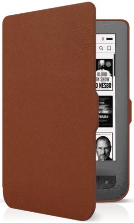 Connect IT Pokrowiec (PocketBook 624/626), brązowy