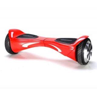 Kolonožka deskorolka elektryczna Standard Auto Balance z aplikacją mobilną, czerwona