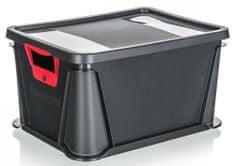keeeper Přepravka se soft touch rukojetí, nosnost 20 kg, s víkem