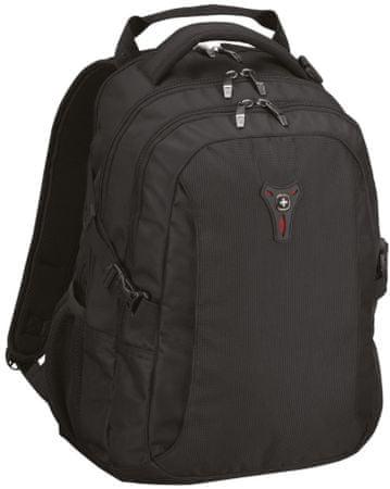 """Wenger Sidebar notebook (16"""") és tablet hátizsák, fekete"""