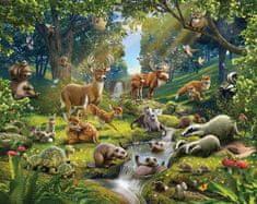 Walltastic Fototapeta Zvířátka z lesa