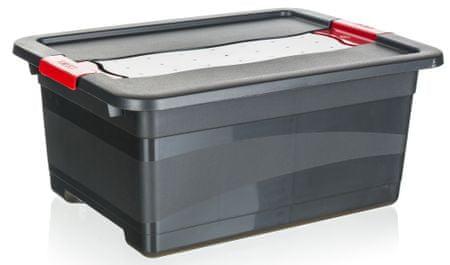 keeeper Extra erős tároló doboz fedéllel, 12l