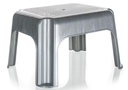 keeeper Alacsony szék/fellépő, 36,5 x 30 x 24 cm, Szürke