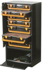 ArtPlast Zárható rendszerző szekrény,fém,7 fiókos