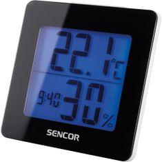 SENCOR Teplomer s hodinami SWS 1500