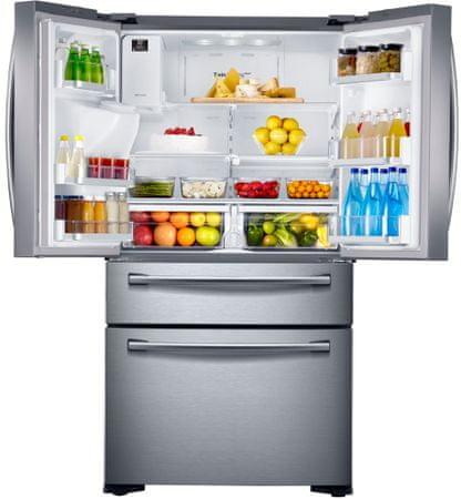 SAMSUNG RF24FSEDBSR/EO Hűtőszekrény + 10 éves garancia a kompresszorra