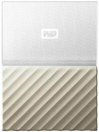 WD Dysk zewnętrzny My Passport Ultra Metal 1TB, biały/złoty