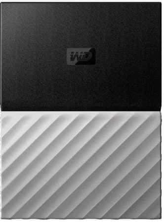 WD Dysk zewnętrzny My Passport Ultra Metal 3TB, czarny/szary (WDBFKT0030BGY-WESN)