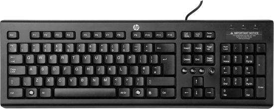 HP USB klávesnice Classic, černá (WZ972AA)