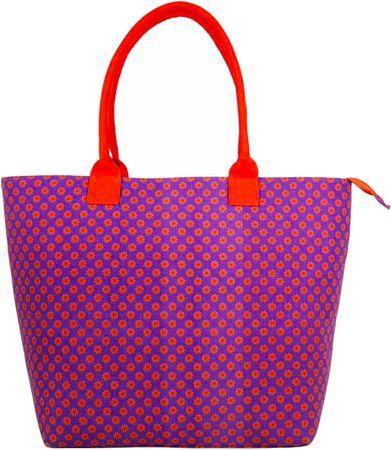REAbags ženska torbica JAZZI 3155, vijolična