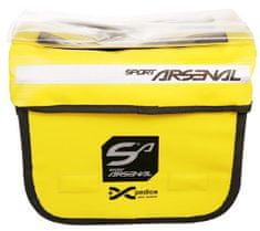 Arsenal Brašna na řidítka s nosičem (Art. 310) žlutá