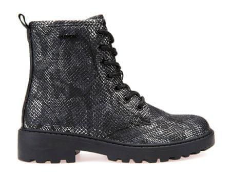 Geox dívčí kotníčková obuv Casey 32 černá  61125c1fa5