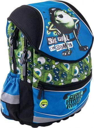 BAAGL Školní batoh ergonomický - Příšerky Boys - velký