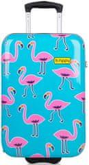 """REAbags potovalni kovček, B.HPPY Go Flamingo """"S"""""""