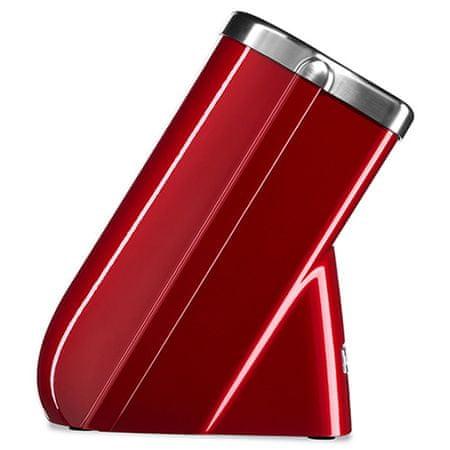 KitchenAid stojalo za nože Pro Series z enim nožem, rdeče