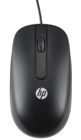 HP mysz optyczna, czarna (QY777AA)