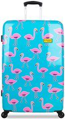 REAbags potovalni kovček B.HPPY Go Flamingo, L