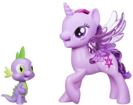 My Little Pony Twilight Sparkle és Spike a két jó barát - éneklő póni figura szett