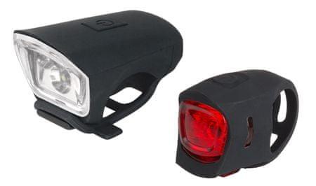 Just One Kerékpár lámpa szett, Vision 2.0