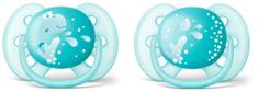 Philips Avent smoczki dla chłopców 6 – 18 msc. Ultrasoft DECO – 2 szt.
