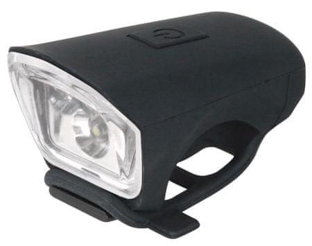 Just One Kerékpár lámpa, Vision 2.0, fekete