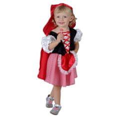 MaDe kostium - Czerwony Kapturek z fartuchem