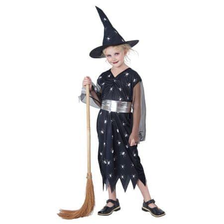 MaDe Kostým stříbrná čarodějka