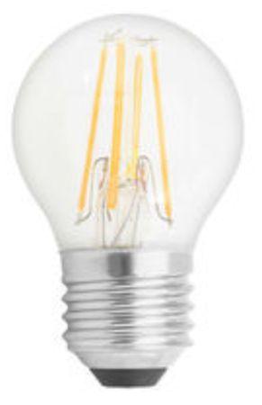GE Lighting LED izzó, Filament Deco Spherical, E27 4W, meleg szín
