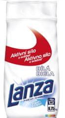 Lanza prašak za pranje rublja Fresh & Clean White, 6,75 kg, 90 pranja