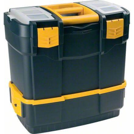 ArtPlast Szerszámos bőrönd 460x280x300 mm - kétrészes
